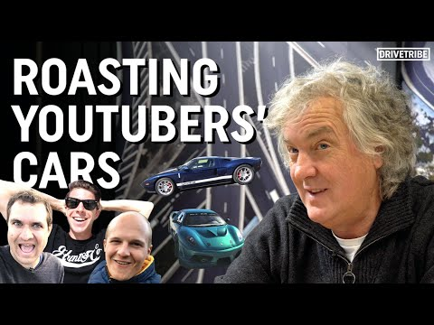 James May Roasts YouTubers' Cars!