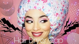 Soft Bonnet Hair Dryer Cap | BilintinaMakeUp