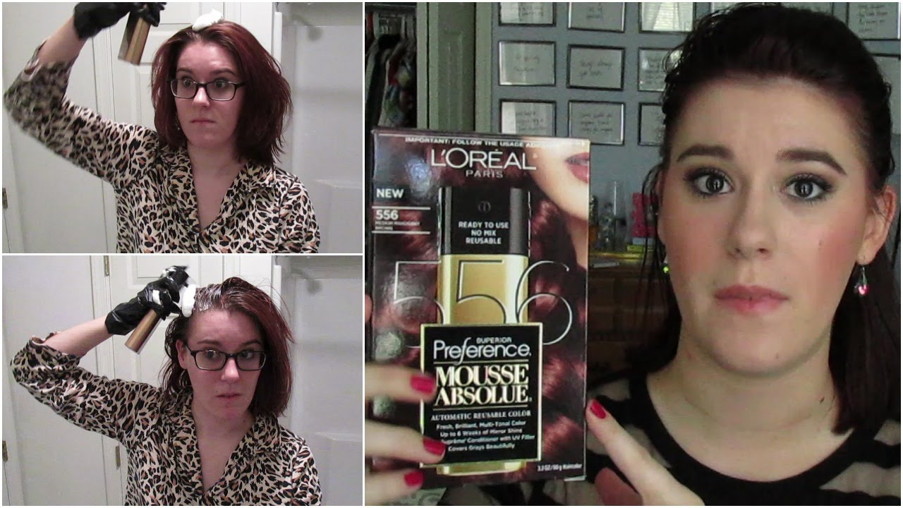 Demo Review Loreal Mousse Absolue Hair Dye Medium Mahogany