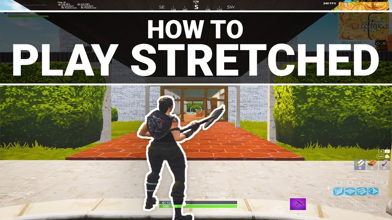 Fortnite: How to play stretched on every PC (AMD & NVIDIA ...