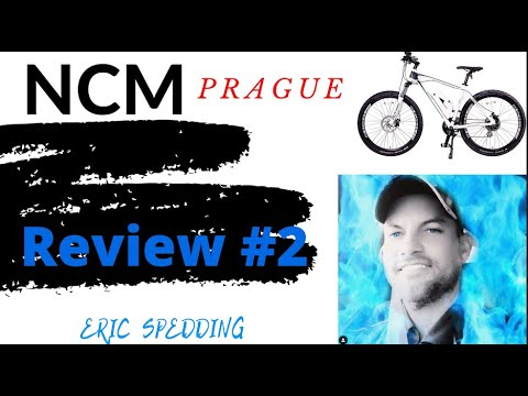 NCM Prague Electric Mountain Bike 468Wh 36V/13AH Build and Review