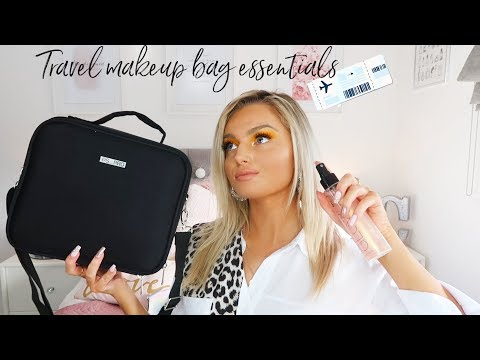 WHATS IN MY HOLIDAY / TRAVEL MAKEUP BAG? *TRAVEL ESSENTIALS* thumbnail