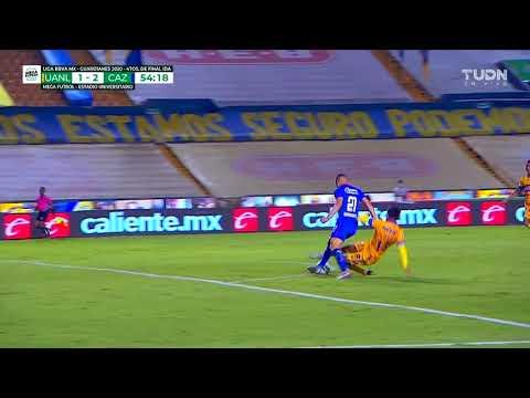Tigres 1 - [2] Cruz Azul - Jonathan Rodriguez 54'