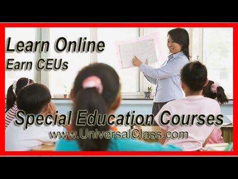 Online Special Education Courses