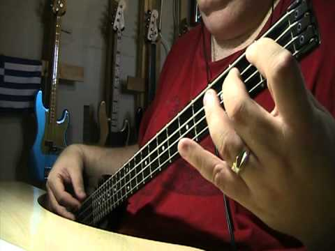 Henry Mancini A Shot In The Dark Bass Cover
