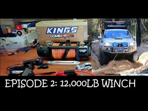 Prado 120 Adventures: Ep 2 Installing A 4WD Winch