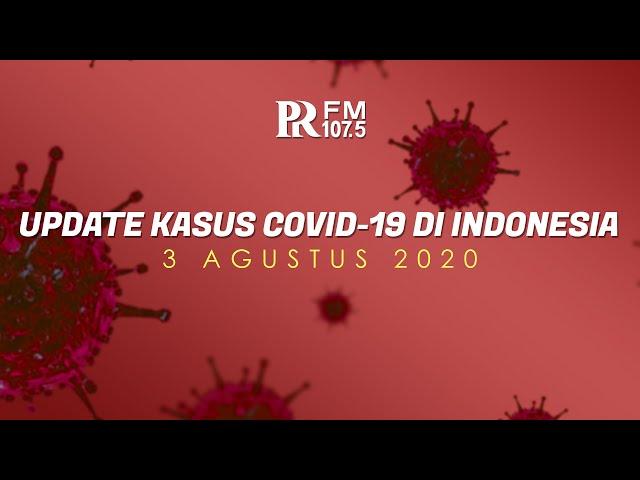 Update Kasus Corona di Indonesia 3 Agustus 2020