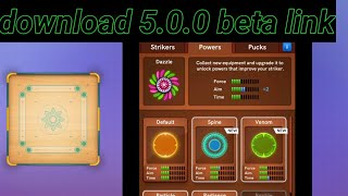 Carrom pool 5.0.0 beta download link and how to install