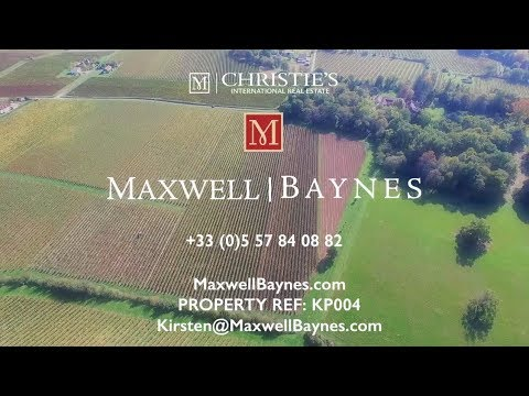 Beautiful chartreuse for sale, Dordogne, France with AOC Pecharmant vineyard. Maxwell-Baynes : KP004