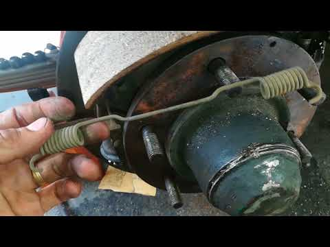 BRAKE SHOE REPLACEMENT – ISUZU I-BEAM