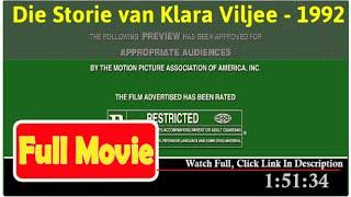Die Storie van Klara Viljee (1992) *Full* MoVieS*