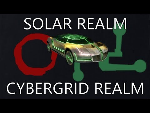 Realms and more! (Distance, episode 3: Solar Realm, Cybergrid Realm)