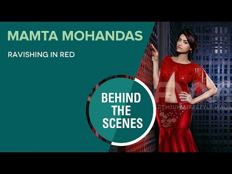 Mamta Mohandas || Photo Shoot Behind The Scenes Video || FWD Magazine