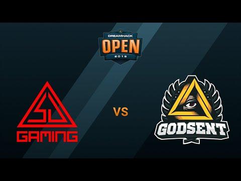 SJ Gaming Vs GODSENT - Nuke - DreamHack Open - Winter 2019