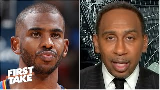 Stephen A. reacts to the Suns acquiring Chris Paul | First Take