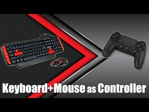 Use Keyboard + Mouse As Controller - 2020 Latest