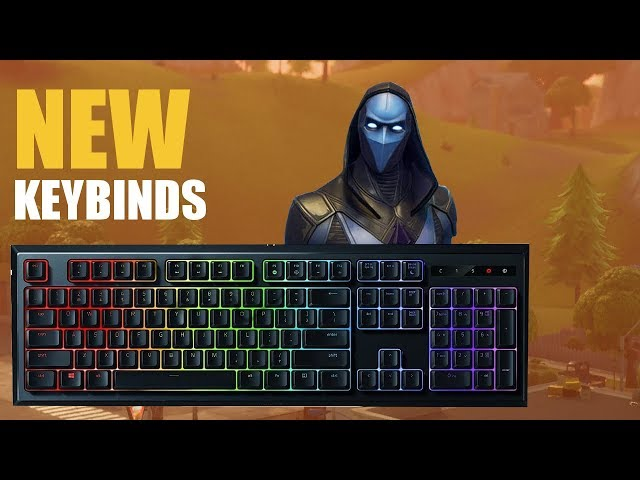 Fortnite: My New Building Keybinds!