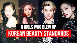 8 Idols Who Really BREAK Korean Beauty Standards