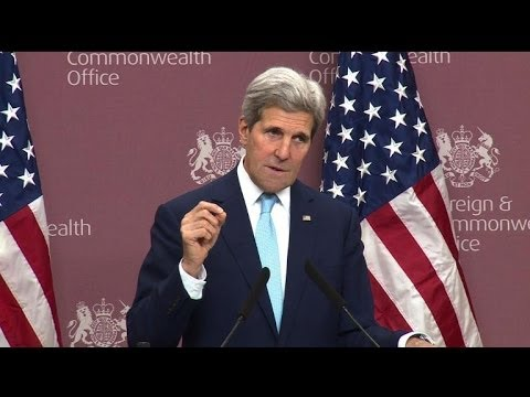 Kerry warns Russia,'proxies' against Ukraine interference
