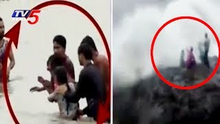 2 Women Rescued From Drowning at Surat | Selfie Craze: 3 Men Drowned to Death at Diu | TV5 News