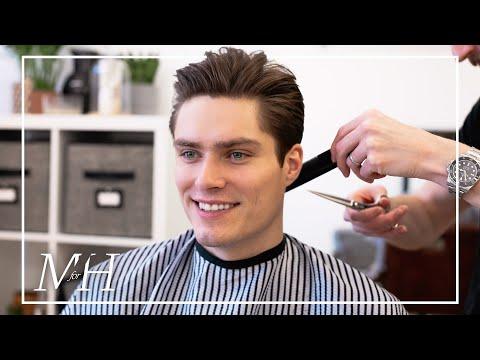 men's-medium-length-haircut-for-fine-hair-|-2020-hairstyle