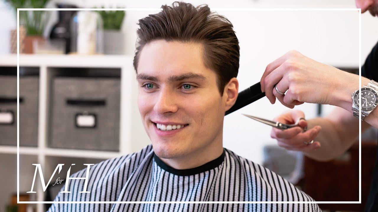 Men S Medium Length Haircut For Fine Hair 2020 Hairstyle Youtube