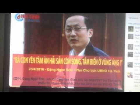 PCT Hà Tĩnh Đặng Ngọc Sơn: Tôi sẽ tắm biển Vũng Áng, nhưng chưa có lịch.
