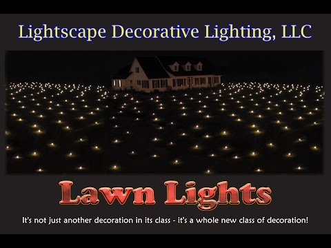 Lawn Lights - Outdoor Christmas Display Decoration, New!