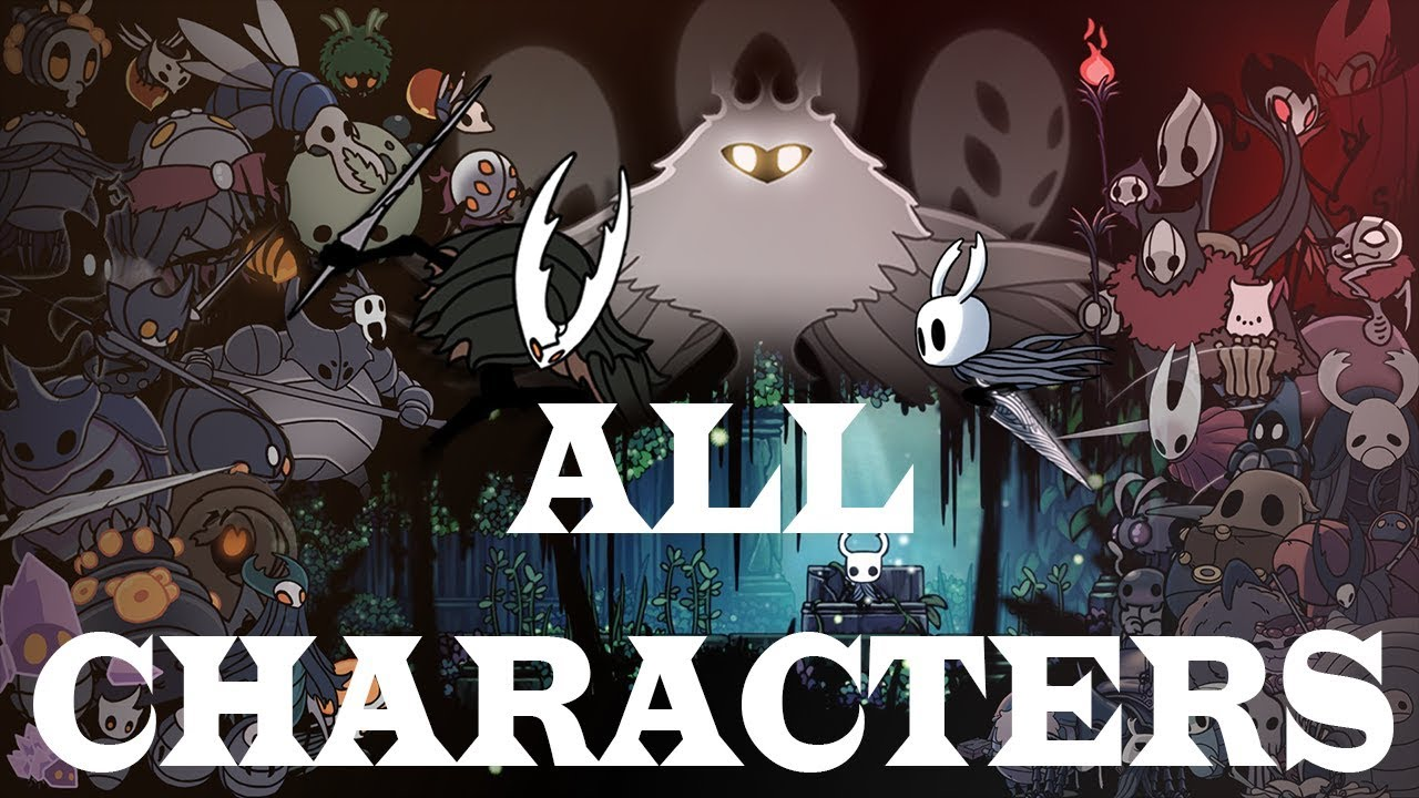 Hollow knight all enemies beast (Godmaster included) , 164