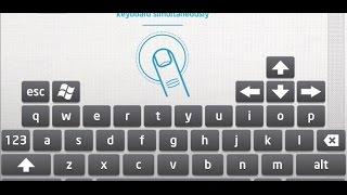 видео андроид как клавиатура для пк