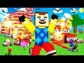 watch he video of Minecraft - HELLO NEIGHBOR - EXPLODING TNT TROLL?!