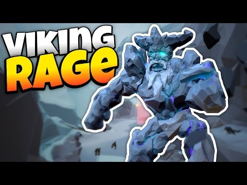Viking Rage VR - Axe Throwing and Ogre Crushing! - Let's Play Viking Rage VR Gameplay - HTC Vive VR