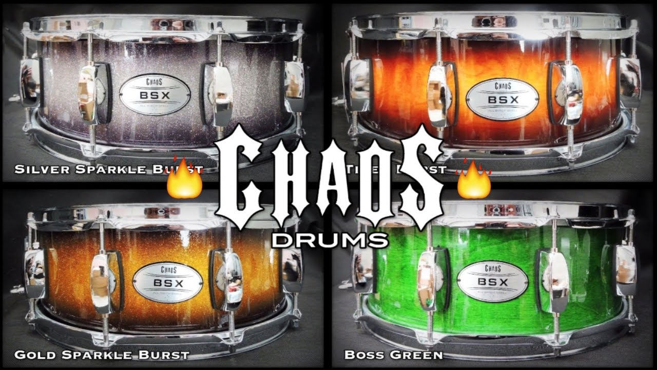 chaos drums bsx birch 14 x 5 5 snare drum demo budget snare under 200 youtube. Black Bedroom Furniture Sets. Home Design Ideas