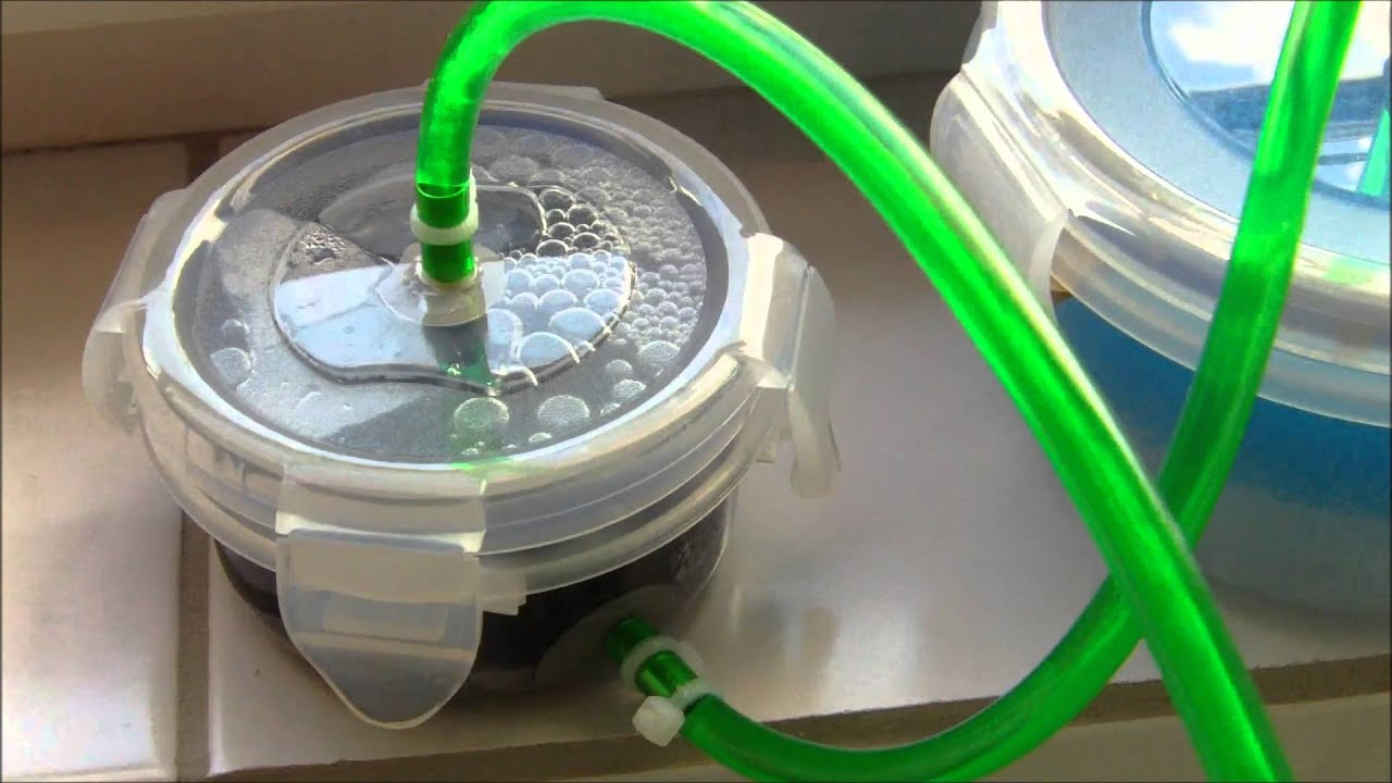 self made canister filter external filter works