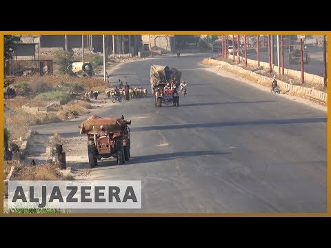 Syrian Rebels Withdraw From Strategic Idlib Town