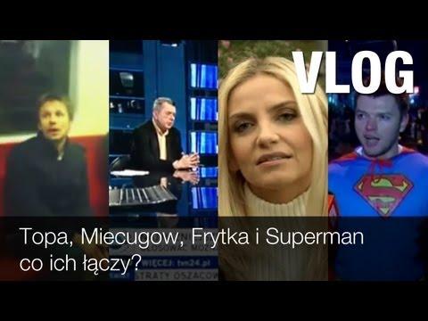 Bartek Topa w metrze, niedysponowany Grzegorz Miecugow, Frytka i Superman - co ich łączy?