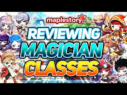 MapleStory: Reviewing Every Mage Class In GMS (2019)