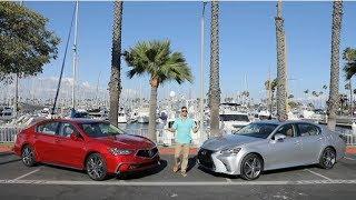 First Drive: Acura RLX Sport Hybrid vs Lexus GS 450h