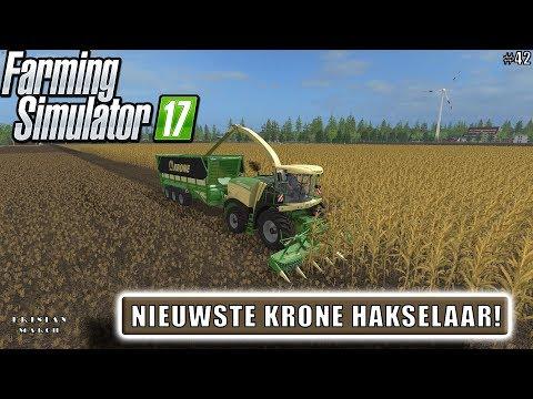 """NIEUWSTE KRONE HAKSELAAR!"" FarmingSimulator 17 Frisian March #42"