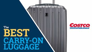 "Costco Delsey 20"" Carbonite Carry-On Spinner Review 