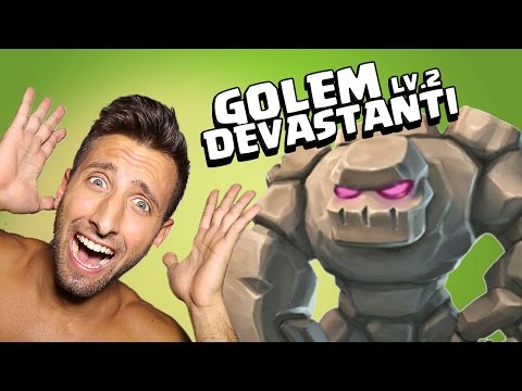 Clash of Clans: Golem lv 2 DEVASTANTI