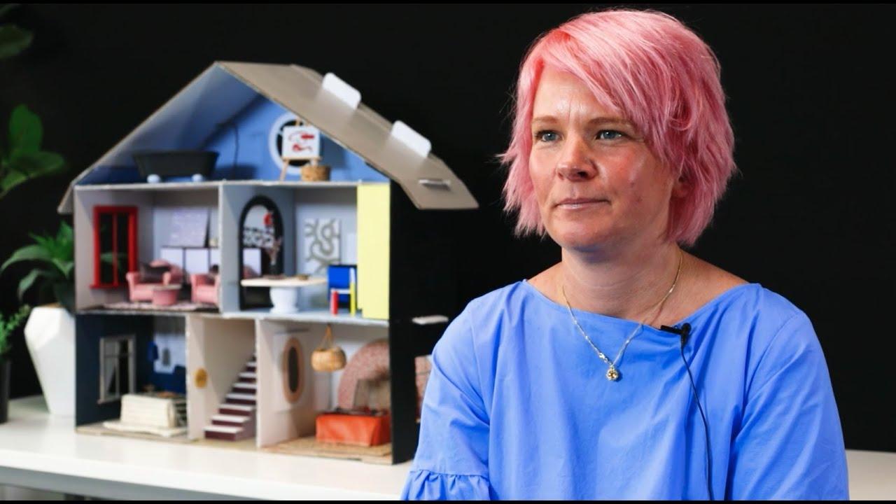 Interior Designer Kate Alexander creates her colourful miniature dreamhouse