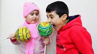 Hasouna help Celina in house - حسونة يساعد سيلينا