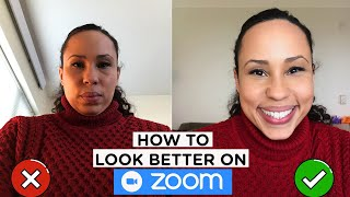 HOW TO LOOK BETTER ON ZOOM [ How to Light & Angle Your Screen to Look Your Best]