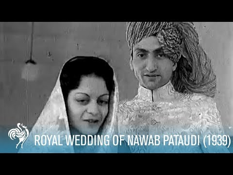 The Nawab Of Pataudi's Royal Wedding: Bhopal, India (1939) |
