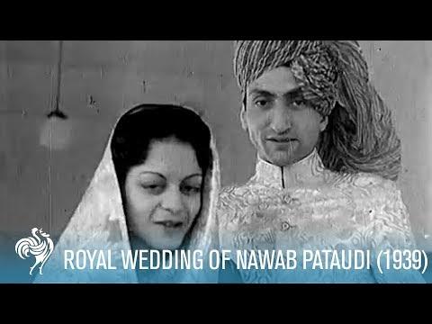 The Nawab Of Pataudi's Royal Wedding: Bhopal, India (1939) | British Pathé