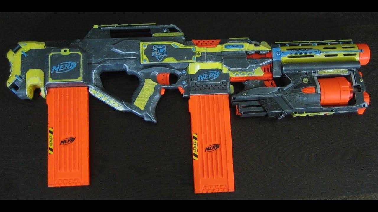 nerf gun stryfe colouring