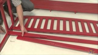 Assembly Video - Pleasant Bay 5 Foot Slat Back Bench