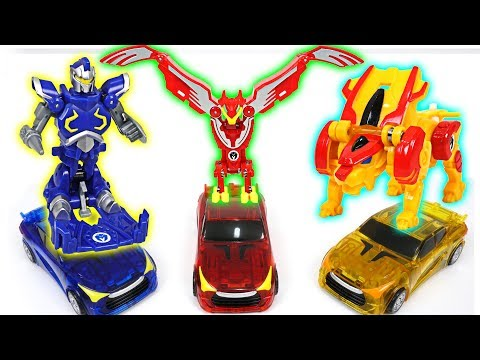 Thumbnail: Turning Mecard W Wing Leo, Wing Knight, Wing Phoenix appeared with EvanKing, Wing Lion - DuDuPopTOY