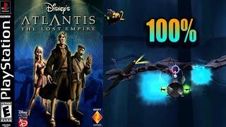 Atlantis: The Lost Empire [08] 100% PS1 Longplay